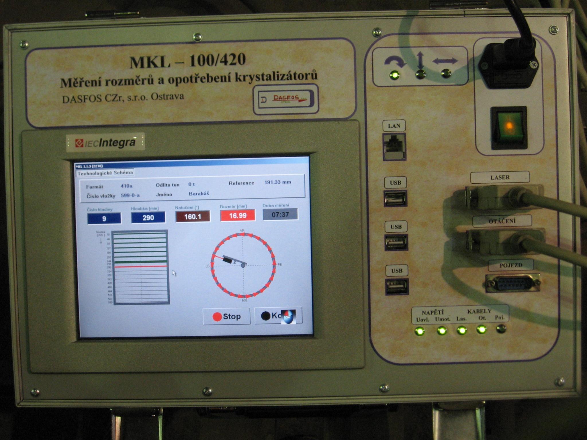 Mobilní řídicí jednotka - - - Portable control unit