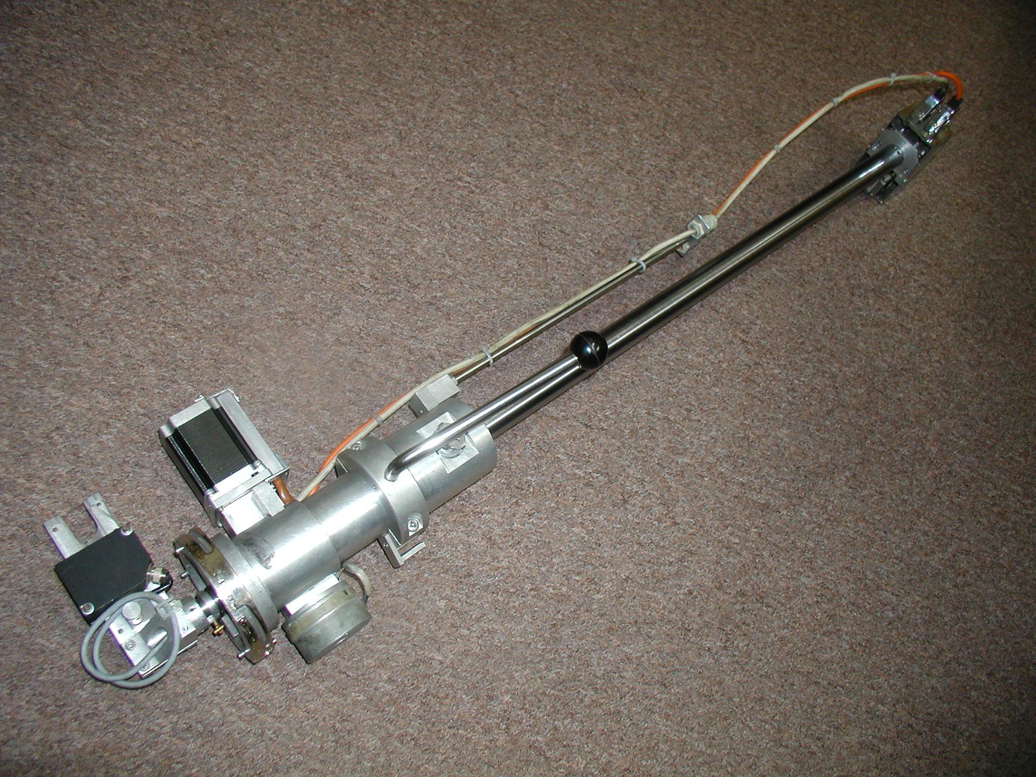 Vlastní laserové měřidlo - - - The laser measuring instrument itself